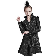 women's coat PUNK RAVE - Steampunk, PUNK RAVE